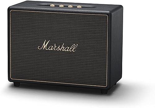 Marshall Woburn Wireless Multi-Room Bluetooth Speaker, Black 04091921 Renewed