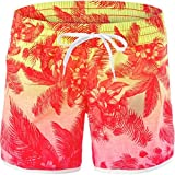 Hurley Women's Supersuede Colin 5'' Boardshorts Multi Swimsuit Bottoms