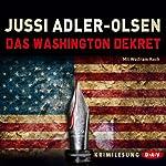 Das Washington Dekret | Jussi Adler-Olsen