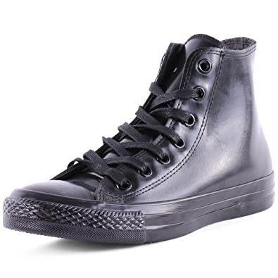 613a75d2c47a0e Converse Mens Chuck Taylor All Star Hi Rubber Boot (4 Mens 6 Womens) Black