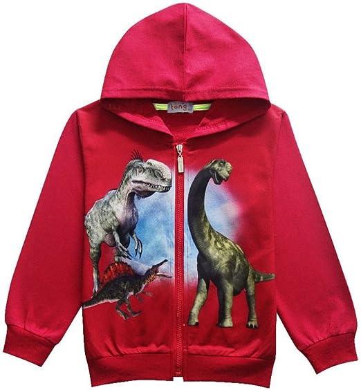 Dino Across The Moon Funny Kids Childrens Hoodie Hoody