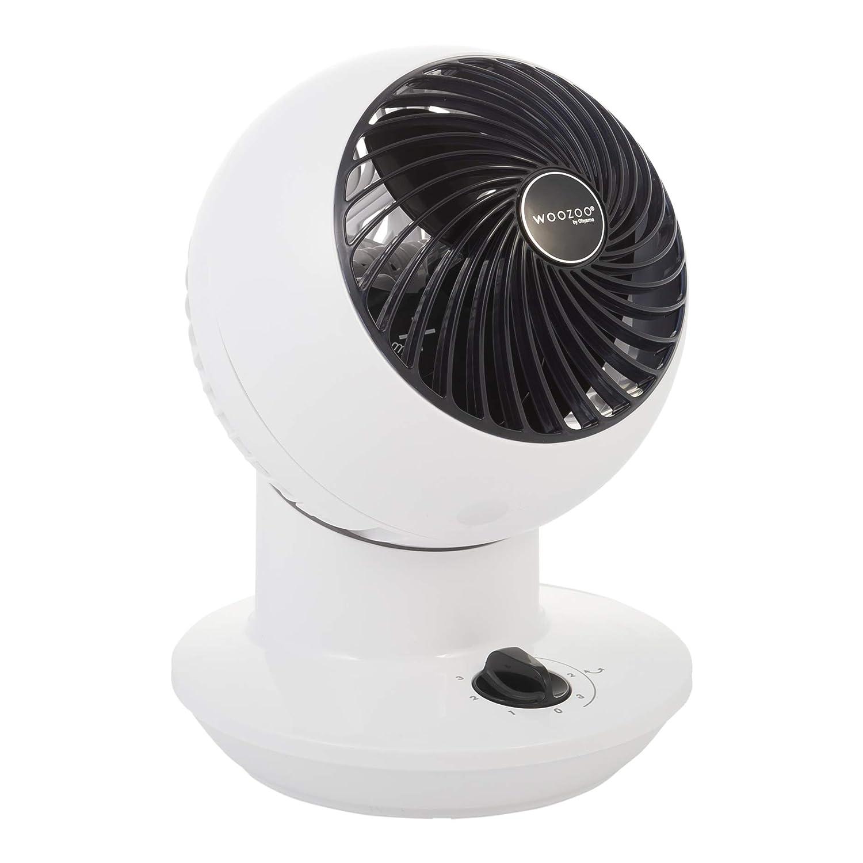Iris Ohyama 11 m/² Woozoo PCF-SM12N blanc Ventilateur Silencieux et Compact 20 W