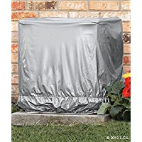 34 Square AC Cover IN STOCK Central Air Conditioner Ground Unit Protector