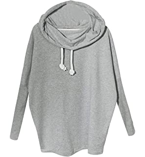 Sweatshirt Damen Sweat Pullover Oversize Frauen Sweatshirts Langarm  Rundhals Langarmshirt Pullis Für Damen Sweatpulli Pulli Winterpullover 184af6da26
