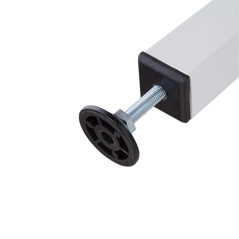 ADB Werkbank Werktisch 600x600x840 mm mit T/ür 1 Fachboden RAL 7035//5012