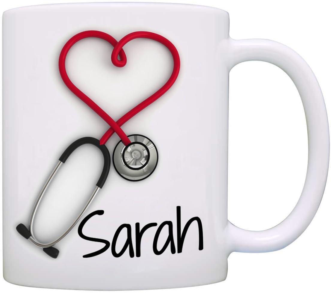 Stir Crazy Gifts Personalized Stethoscope Mug