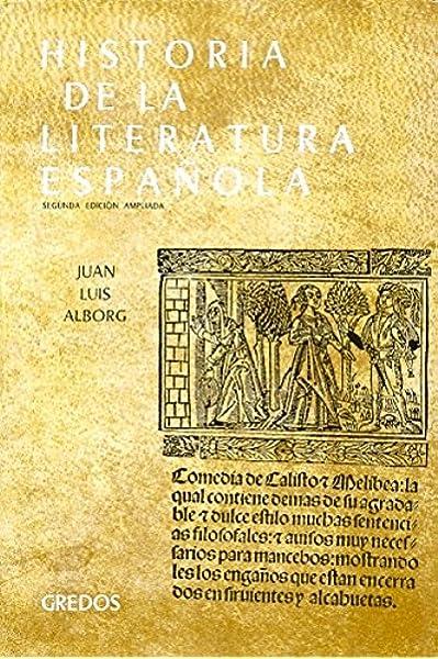 Historia literatura española vol. 1: Edad Media y Renacimiento ...