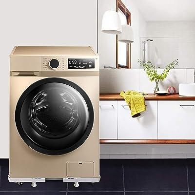 Grey Adjustable Furniture Dolly Roller Mobile Base Universal ...