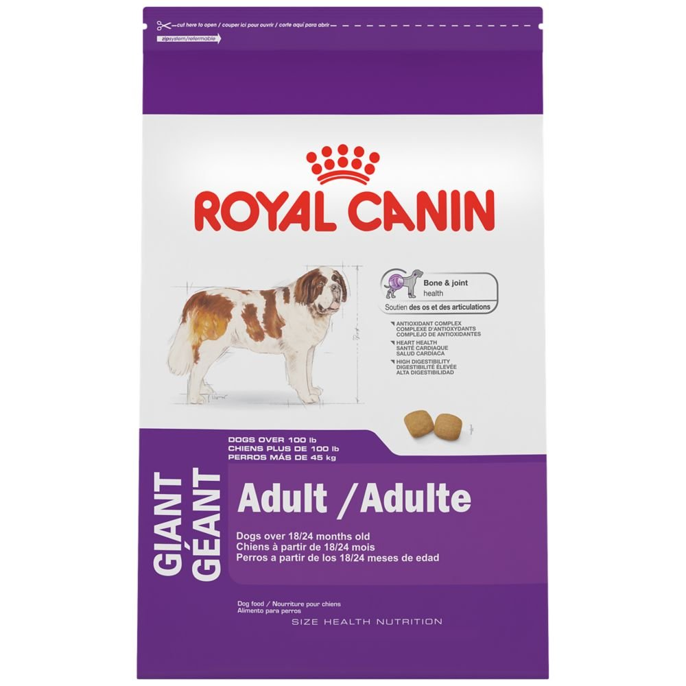 Royal Canin Size Health Nutrition Giant Adult Dry Dog Food, 35 Lb