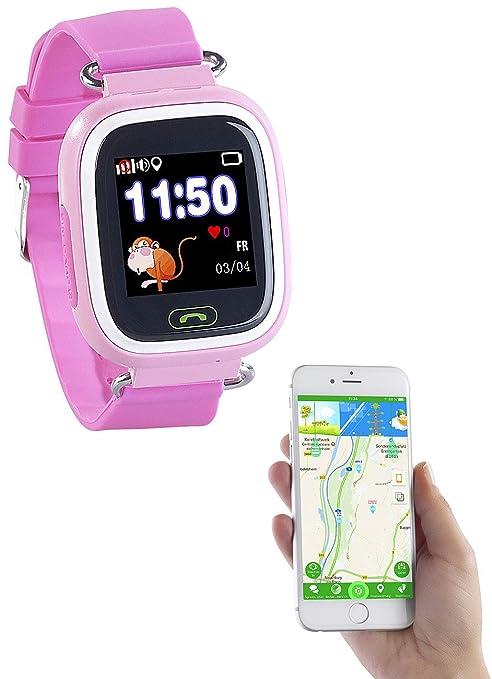 factory outlets hot sale pretty cheap TrackerID GPS Orologio: Orologio per Bambini, Telefono, GPS ...