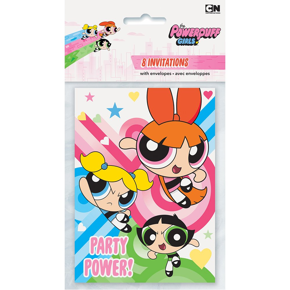 girls-powerpuff-girls-party-invitations