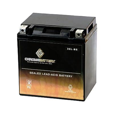 Chrome Battery YTX30L-BS High Performance