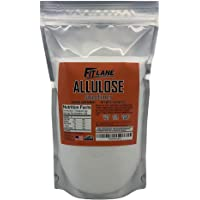 Allulose Sweetener, 100% Pure Non GMO Zero Net Carb Natural Keto Sweetner Sugar Substitute by Fit Lane Nutrition Value…