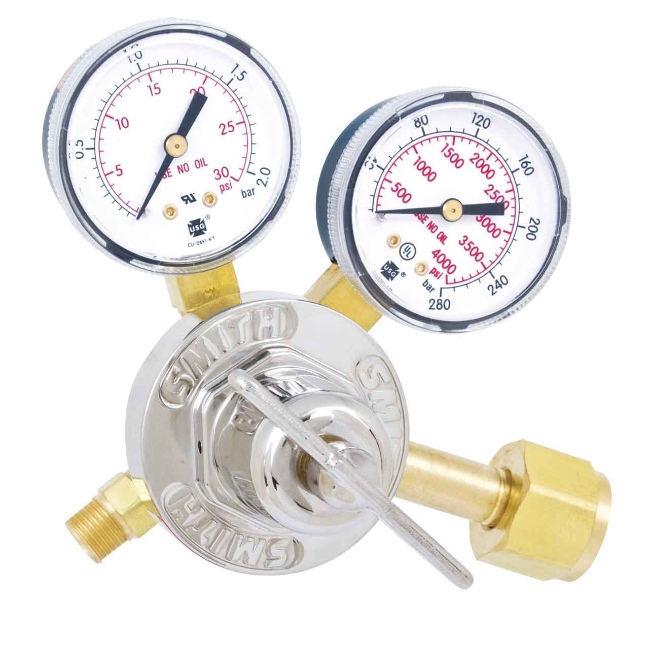Oxygen Regulator Low Pressure for Oxy-Acetylene Welding by Miller Electric