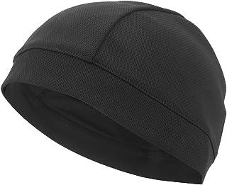 VGEBY sotto Casco cap Antivento Casco Testa Warmer Antipolvere Thermal Cycling Skull cap, Black