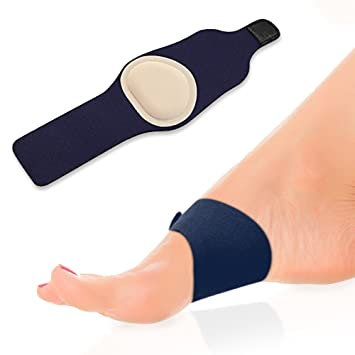 4a97cb5d61 Plantar Fasciitis Cushion Arch Support with Gel Therapy- Heel Pain Sleeve  for the Ultimate in