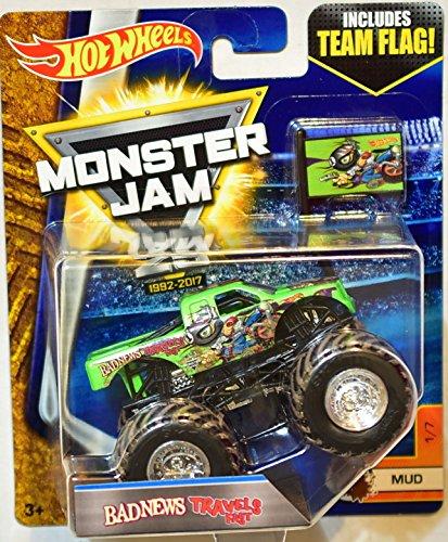 Buy cheap hot wheels monster jam 2017 team flag bad news travels fast mud