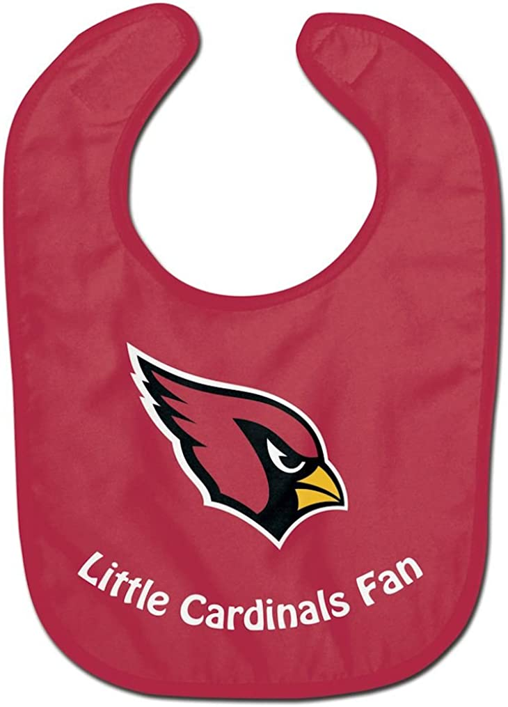 WinCraft NFL Arizona Cardinals WCRA2046814 All Pro Baby Bib