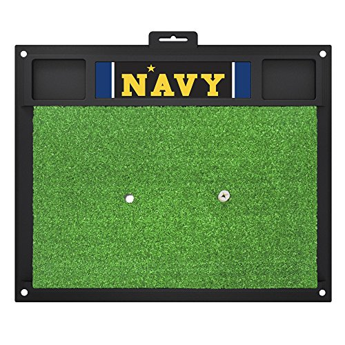 Fanmats 20624 U.S. Naval Academy Golf Hitting Mat, Team Color, 20