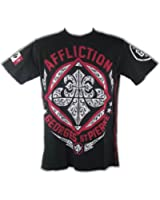 Georges St Pierre GSP Authority Affliction Mens T-shirt