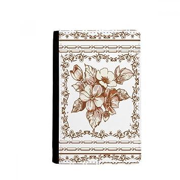 Beatchong Barock Kunst Blumen Rahmen Modern Muster Pass Halter
