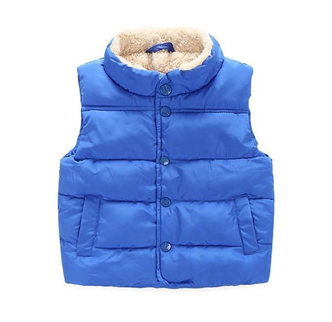 5ebae3ab63e6 Amazon.com  Taiycyxgan Toddler Kid Boys Girls Winter Fleece Vest ...