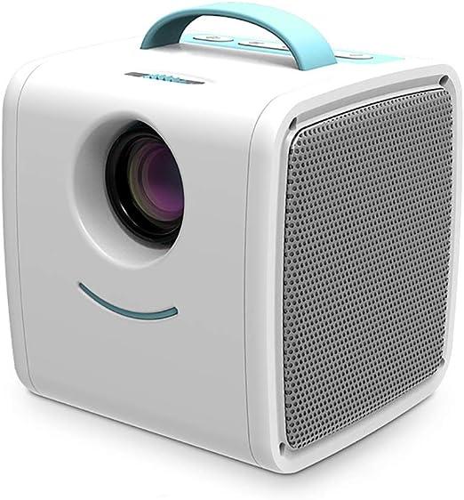 Mini proyector, Pantalla de 30 lúmenes 1080P Full HD LED proyector ...