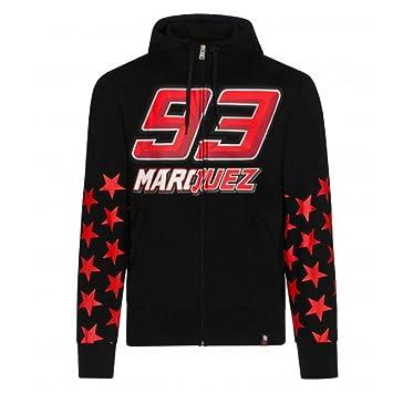Marc Marquez 93 Moto GP Stars Capucha Negro Oficial Nuovo: Amazon.es: Deportes y aire libre