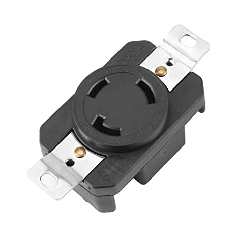 Amazon.com: NEMA L5-30P 30 Amp 125 Volt Twist Lock Wall ... on l6-30r receptacle wiring-diagram, nema l6-30r wiring-diagram, nema 6-20r wiring-diagram, l6-20 wiring-diagram, nema 5-15p wiring-diagram, nema l6-15p wiring-diagram, nema 14 20r wiring-diagram, nema l14-30p wiring-diagram, nema 6-20p wiring-diagram, l5-30r wiring-diagram, nema l14-20p wiring-diagram, usb wiring-diagram, nema 6 50r wiring-diagram,