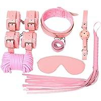 S~M~i M FORWIN US- Set de 10 Piezas de Ropa de Cama Sèx Games Bondage Set para Dormitorio (Color : Pink)