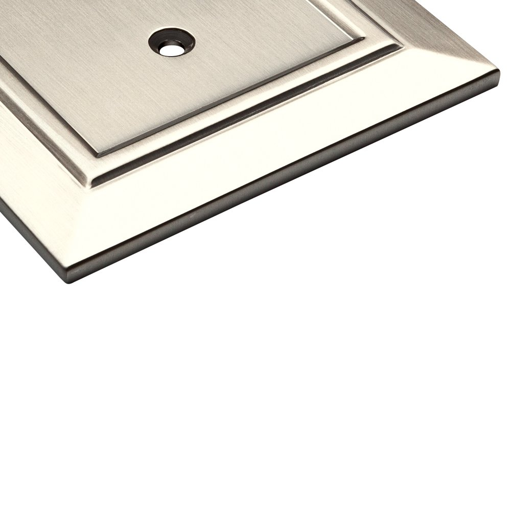 Franklin Brass W35225-SN-C Classic Architecture Triple Toggle Switch Wall Plate / Switch Plate / Cover, Satin Nickel by Franklin Brass (Image #5)