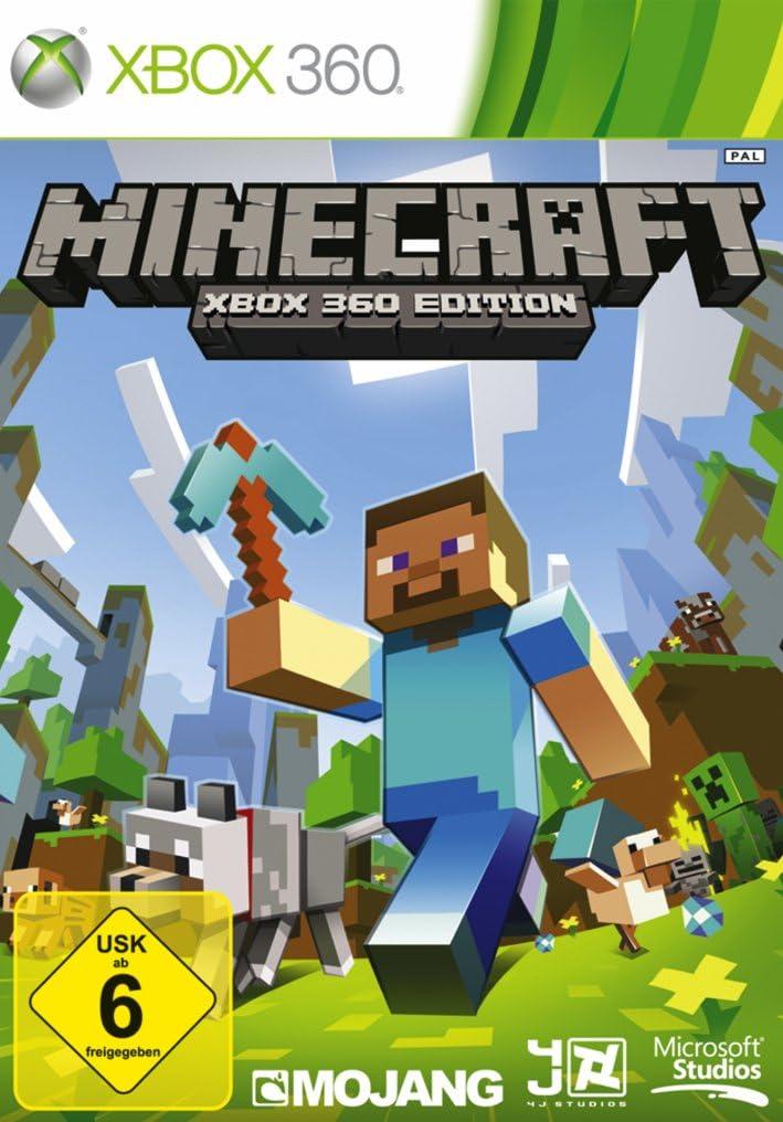 Microsoft Minecraft (Xbox360) - Juego (Xbox 360, Acción / Aventura, E10 + (Everyone 10 +)): Amazon.es: Videojuegos