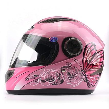 Nero//Rosa Astone Helmets gt2g-ladyc-bpm Casco Moto Integrale GT Lady Custom Taglia M