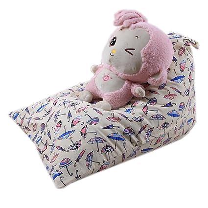 Amazon Com Ddlbiz Kids Household Stuffed Animal Storage Bean Bag