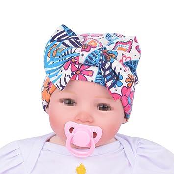 TININNA Bonnets Nouveau né Coton Crochet Papillons Chapeau Unisexe Bébé  Garçon Fille Naissance Tricot Hat Cap 08ead203d88