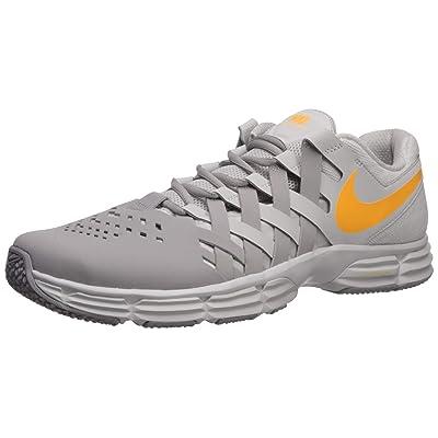 Nike Men's Lunar Fingertrap Trainer Sneaker, vast Grey/Laser Orange-Atmosphere Grey, 9 Regular US | Fashion Sneakers