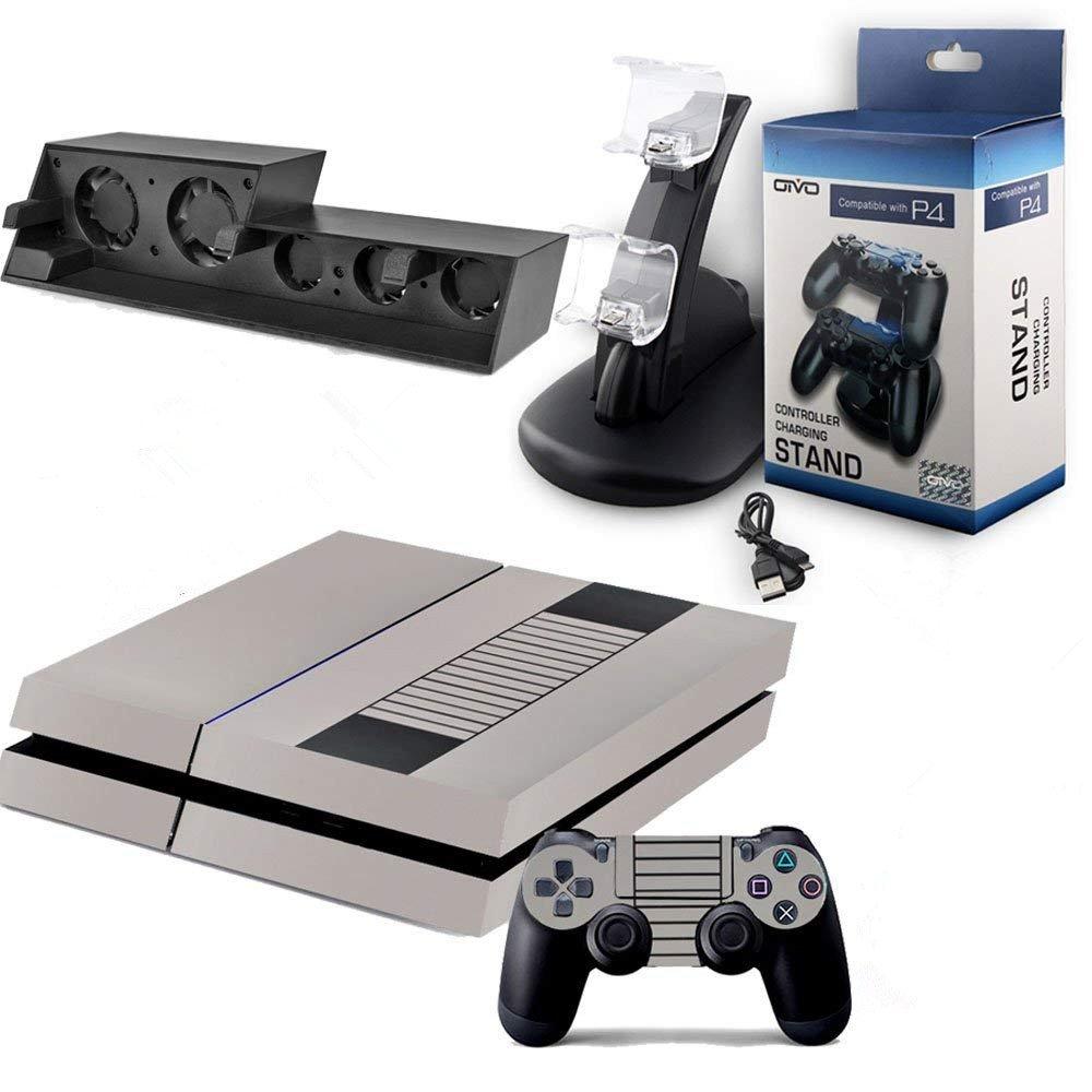 Amazon.com: sqdeal PS4 Accesorios Bundle 4 en 1 Pack ...