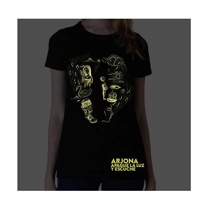 Ricardo Arjona Official Merch Womens T-Shirt GUITARRA EN Mano Camiseta de Mujer at Amazon Womens Clothing store: