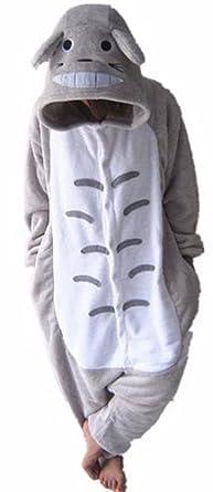 f1bf37ffb365 WOWcucos Unisex Adult Totoro Onesies Animal Cosplay Costume Halloween Xmas  Pajamas---S
