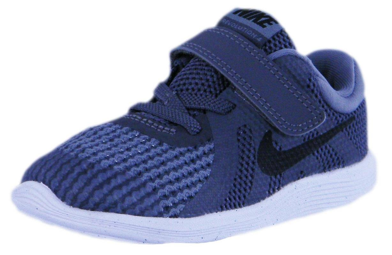 Nike Toddler Revolution 4 (TDV) Dark Grey/Black Cool Grey Wht Size 8