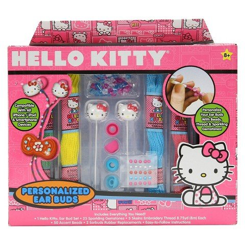 Personalized Hello Kitty (Hello Kitty Personalized Ear Buds Craft)