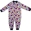 TopsandDresses Baby Boys' Onesies - And Long Sleeve Character Pyjamas Pjs Onesie 18-24 Months Spiderman Light Blue