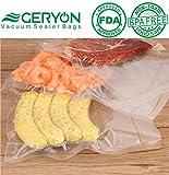 GERYON Vacuum Sealer Rolls, Vacuum Sealer Bags for