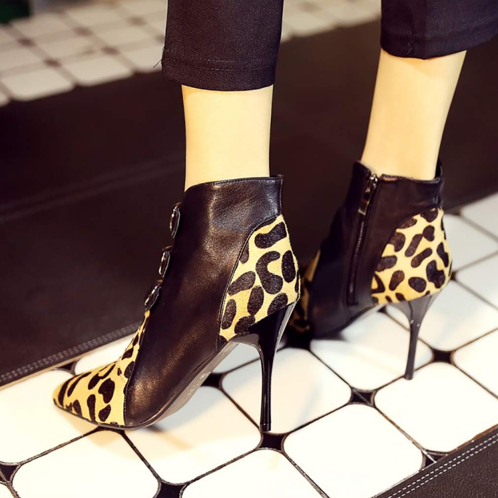 Vaneel Damen Damen Damen vabtpt 9CM Stiletto Reißverschluss Stiefel Schuhe 383615