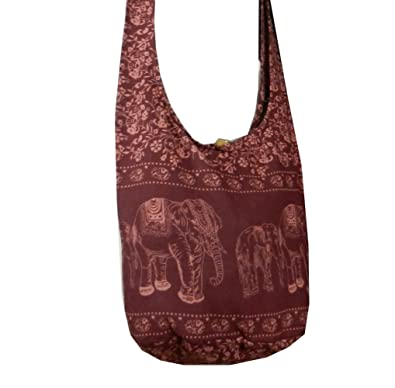 Amazon.com: BTP! Elephant Sling Crossbody Shoulder Bag Purse ...