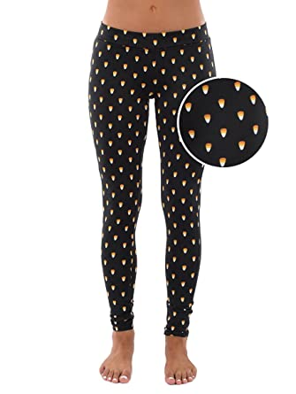 91be1f2328f14 Candy Corn Halloween Leggings - Cute Halloween Candy Tights for ...