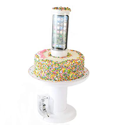 Amazon.com   Surprise Cake - Musical Popping Cake Stand - Happy ...