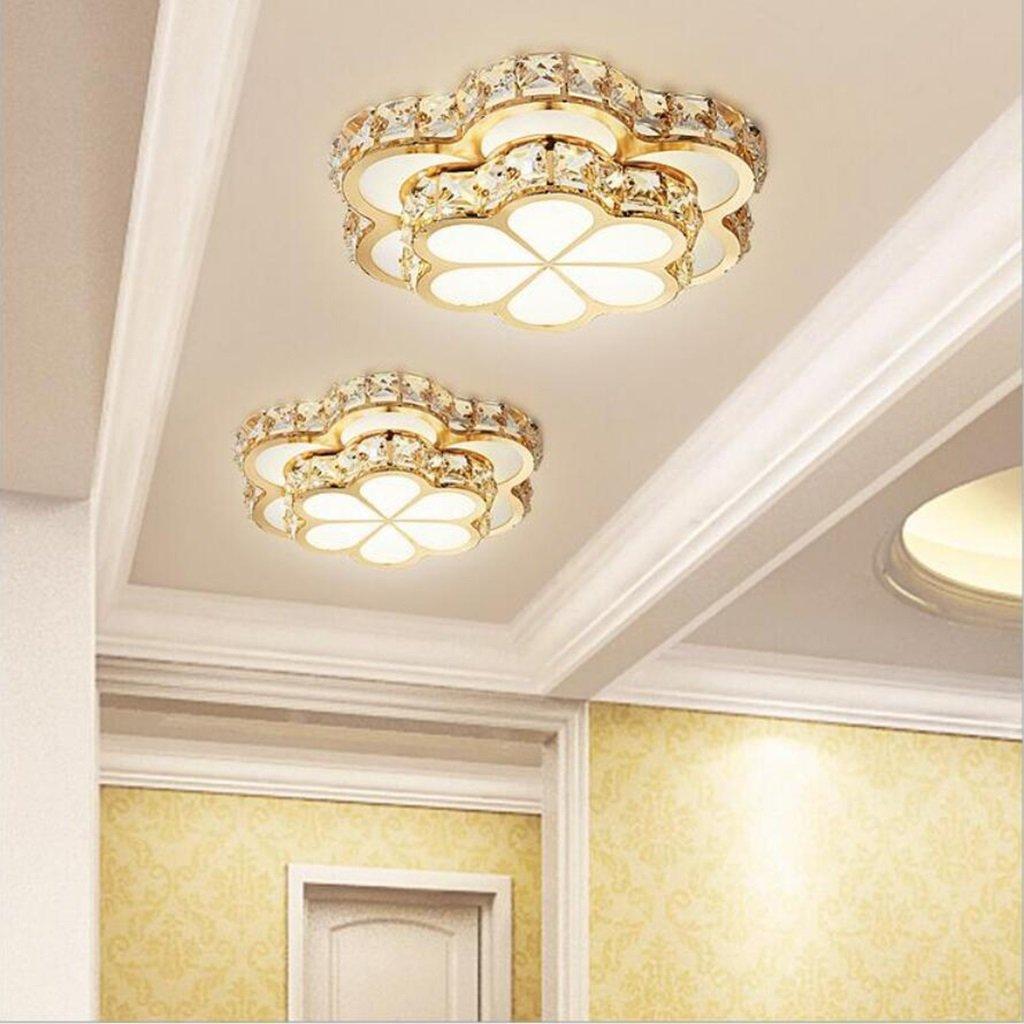 SX-ZZJ Indoor Lighting Fashion LED Flowers K9 Crystal Chandelier Lamp Chandeliers led New lamp Pendant Gold High-Power led Chandelier Light Chandelier