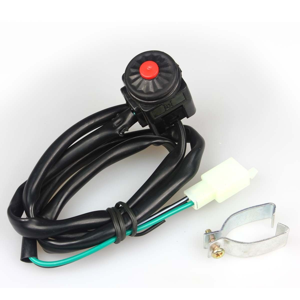 Wingsmoto Kill Switch Dirt Pit Bike Motorcycle Universal Honda Xr80 Wiring 2 Wires Automotive