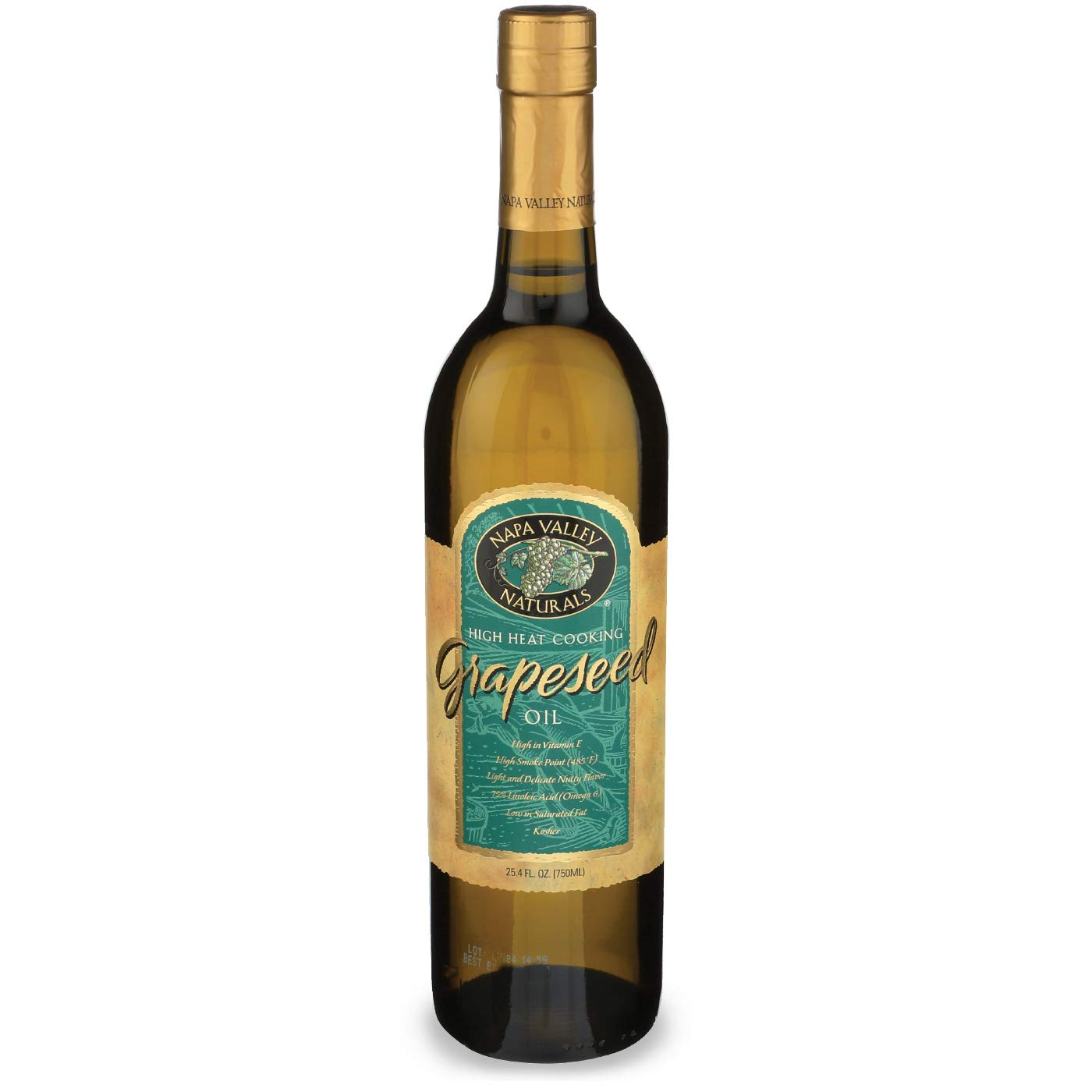 Napa Valley Naturals Grapeseed Oil, 25.4 Ounce (2-Pack) by Napa Valley Naturals